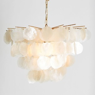 Pottery Barn Teen Large Capiz Chandelier