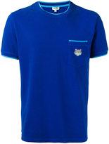 Kenzo tiger pocket T-shirt - men - Cotton - M