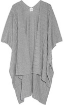 Madeleine Thompson Ribbed Cashmere Wrap - Light gray