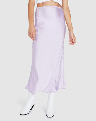 Alice In The Eve August Silky Midi Skirt