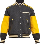 Junya Watanabe X The North Face contrast-panel bomber jacket