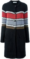 Sonia Rykiel long cardigan - women - Cotton/Polyamide - 36