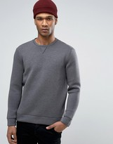 Benetton Sweatshirt in Neoprene Fabric