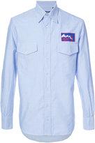 Gitman Brothers logo embroidered shirt