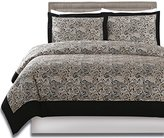Utopia Bedding 3 Piece Paisley Duvet Cover Set (Queen) - 1 Duvet Cover 2 Pillow Shams - Luxe Style Brushed Velvety Microfiber - Floral Pattern - Comfortable, Breathable, Soft & Extremely Durable -