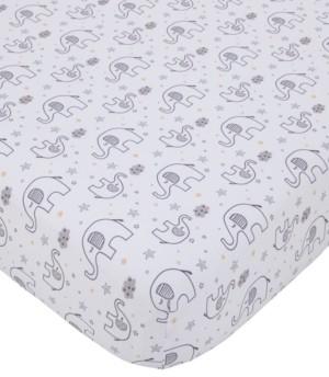 NoJo Little Love by Dream Big Little Elephant Crib Sheet Bedding