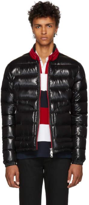 Moncler Black Down Aubert Jacket