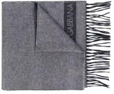 Dolce & Gabbana Dolce E Gabbana Men's Grey Silk Scarf.