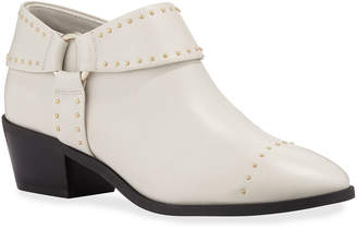 Taryn Rose Sage Studded Leather Harness Booties