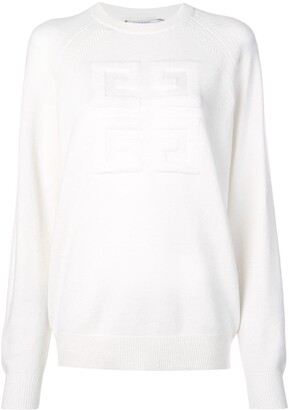 Givenchy embroidered 4G logo sweatshirt