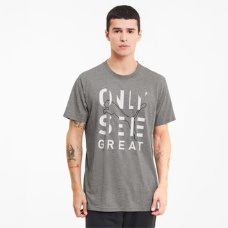 Puma Performance Slogan Men's Tee