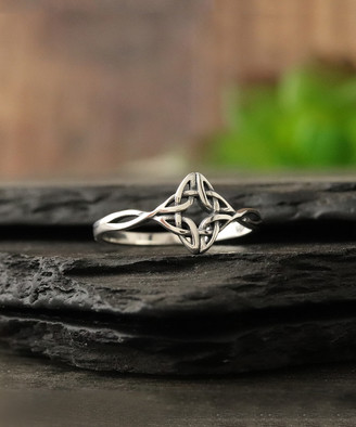 Celtic Kg Silver KG Silver Women's Rings silver - Sterling Silver Knot Ring