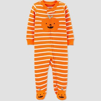 Just One You Made By Carter's Baby Pumpkin Thermal One Piece Pajama - Just One You® made by carter's