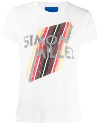 Simon Miller logo-print cotton T-shirt