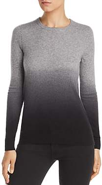 Bloomingdale's C By C by Dip-Dye Cashmere Crewneck Sweater - 100% Exclusive