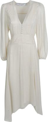 IRO Asymmetric V-neck Dress