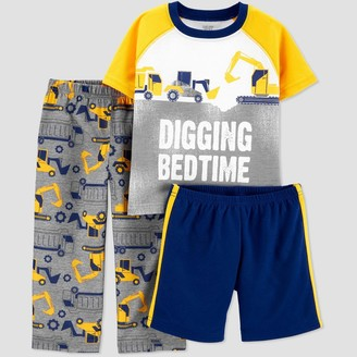 Just One You Made By Carter's Baby Boys' 3pc 'Truck' Pajama Set - Just One You® made by carter's