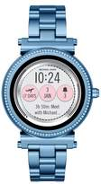 Michael Kors Sofie Touchscreen Bracelet Smart Watch, 42mm