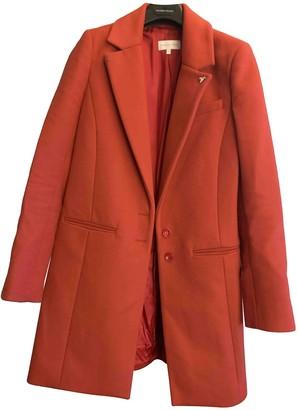 Patrizia Pepe Red Cotton Coat for Women