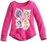 Disney Princess Thermal Tee for Girls