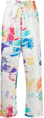 Soulland Ami printed trousers