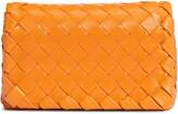 Bottega Veneta Mini Intrecciato Leather Crossbody Flap Bag