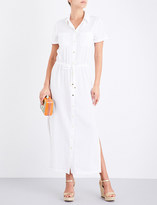 Heidi Klein Maine woven maxi shirt dress