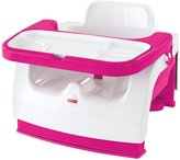 Fisher-Price Grow-With-Me Portable Booster - Pink/White