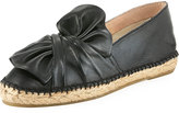 Patricia Green Knot Leather Espadrille Loafer