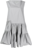 MM6 MAISON MARGIELA Asymmetric Ruffle Dress