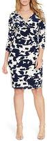 Lauren Ralph Lauren Plus Printed Jersey Dress