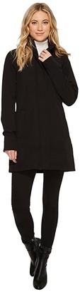 Ilse Jacobsen Lightweight Shorter Coat (Black) Women's Coat