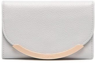 See by Chloe Snap-Button Fastening Leather Wallet