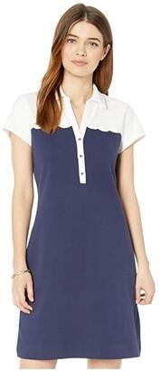 Lilly Pulitzer Tonda Polo Dress (True Navy) Women's Dress