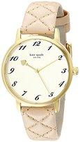 Kate Spade Women's 1YRU0785 Metro Gold-Tone Stainless Steel Watch