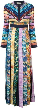 Mary Katrantzou Colour-Block Maxi Dress