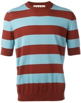 Marni striped T-shirt - men - Cotton - 50