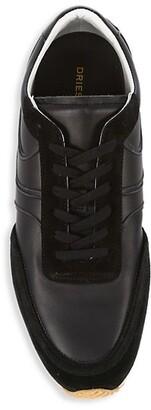 Dries Van Noten Leather Sneakers