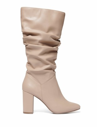 Forever New Mila Slouch Calf Boots - Camel - 36