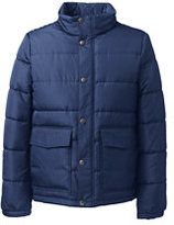 Classic Men's Puffer Jacket-Oatmeal Heather