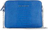 Karen Millen Mini Croc Bag - Blue