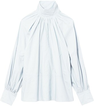 Proenza Schouler Long-Sleeve Blouse