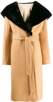 Lardini Cappotto midi coat