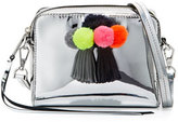 Rebecca Minkoff Sofia Mini Tassel Crossbody Bag, Silver