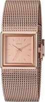 DKNY Women's 'Stonewall' Quartz Stainless Steel Casual Watch, Color:-Toned (Model: NY2564)