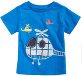 First Impressions Helicopter-Print Cotton T-Shirt, Baby Boys, Created for Macy's