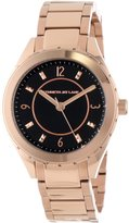 Kenneth Jay Lane Women's KJLANE-2211 Dial Rose Gold Ion-Plated Stainless Steel Watch