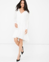 White House Black Market Boho Split-Front Minidress