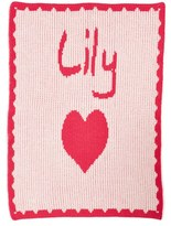 Butterscotch Blankees 'Hearts - Small' Personalized Stroller Blanket