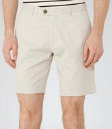 Reiss Wicker Tailored Cotton Shorts